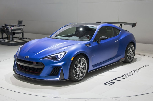 The STI Performance Concept Will Be A BRZ Looking 2 Door Sports Coupe That  Will Represent STIu0027s Core. This New Model Will Have Suspension And Brake ...