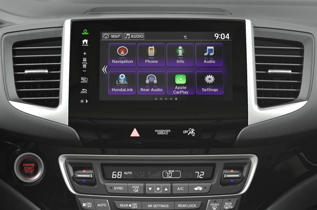 honda pilot   apple carplay  android auto autodeal