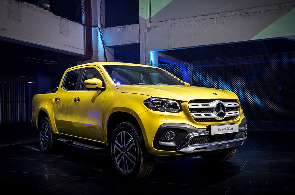 2018 mercedes benz x class revealed autodeal for Mercedes benz pickup truck
