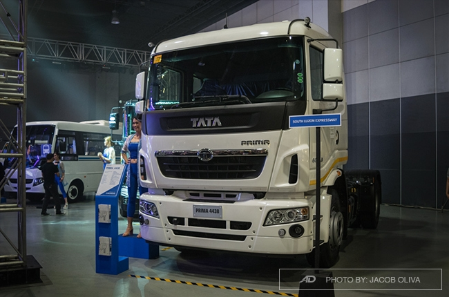 Tata Motors commercial vehicles