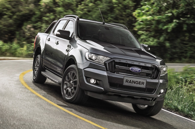 ford ranger black edition to debut in frankfurt autodeal. Black Bedroom Furniture Sets. Home Design Ideas