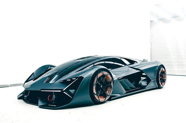 Lamborghini Terzo Millennio electric super sports car