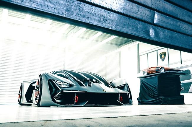 Lamborghini Reveals Terzo Millennio Self Repairing Electric Supercar
