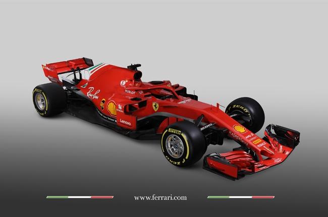 Formula 1 Scuderia-Ferrari SF71H