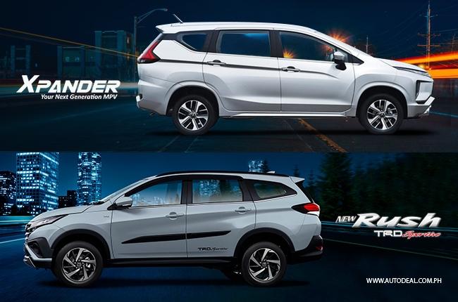 Toyota Rush Modified >> Head-to-head Comparison: Toyota Rush vs. Mitsubishi Xpander | Autodeal