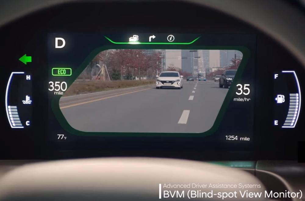 NEXO Blind-spot View Monitor