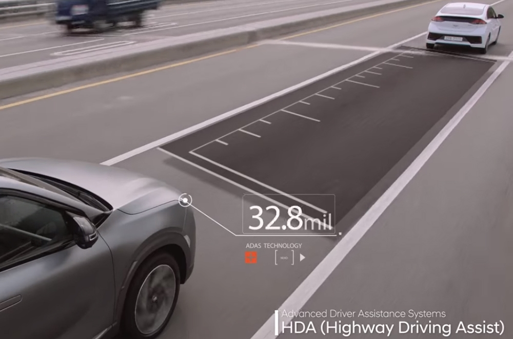 NEXO Highway Driving Assist