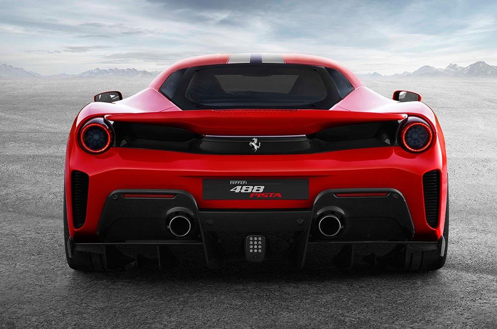 Ferrari 488 Pita rear