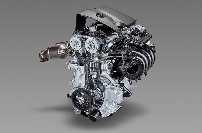 toyota all-new engine transmission