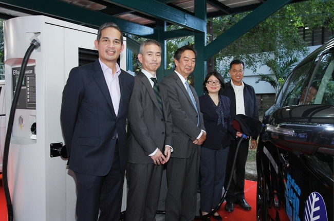 Mitsubishi Motors Philippines Corporation Electric Vehicle Quick Charging Station