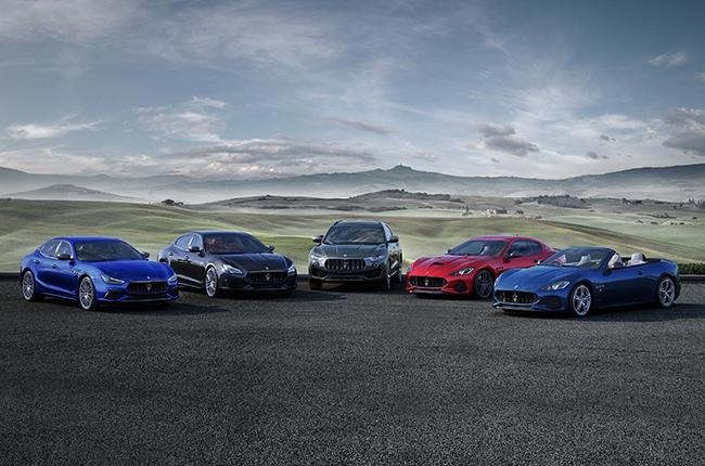 2018 Maserati Lineup