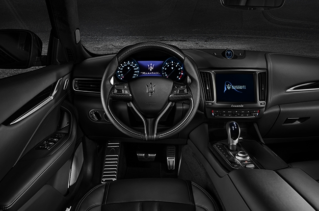 2018 Levante GranSport Cockpit
