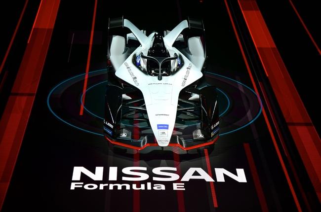 Nissan Formula E front