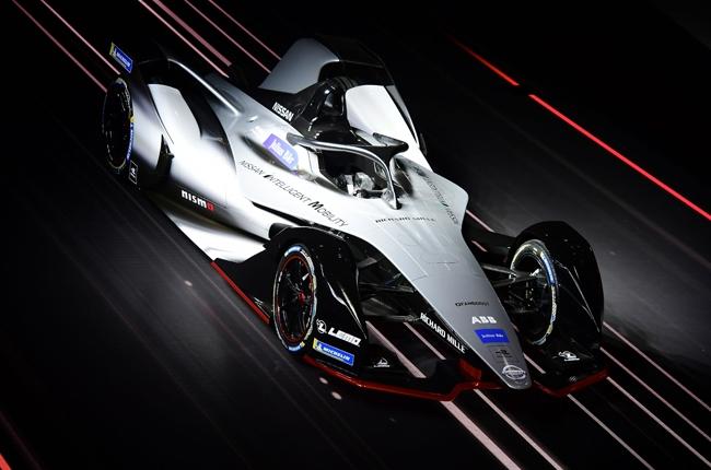 Nissan Formula E quarter