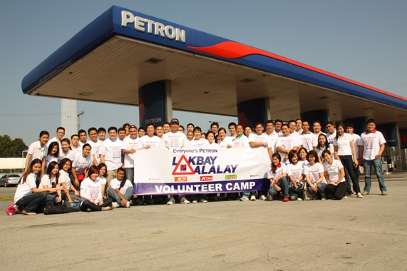 petron lakbay alalay 2018 employee volunteers