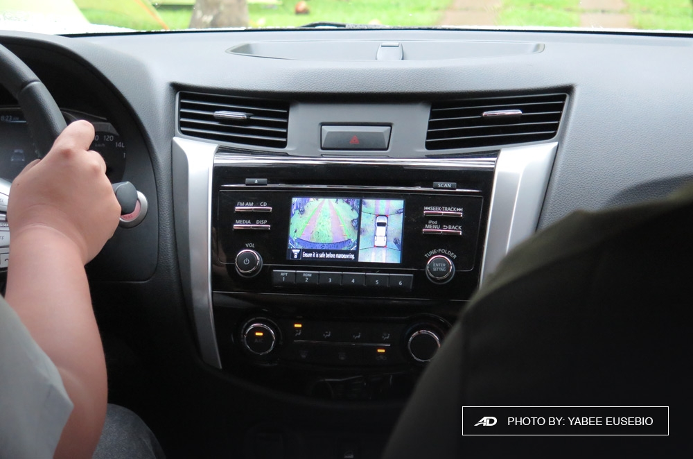 Nissan Navara Nissan Intelligent Mobility Around View Monitor Interior