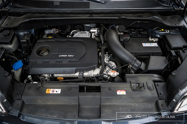 kia soul CRDi engine