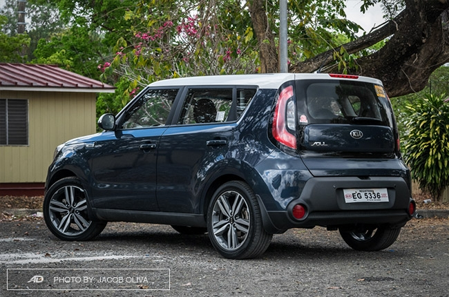 kia soul philippines review rear quarter