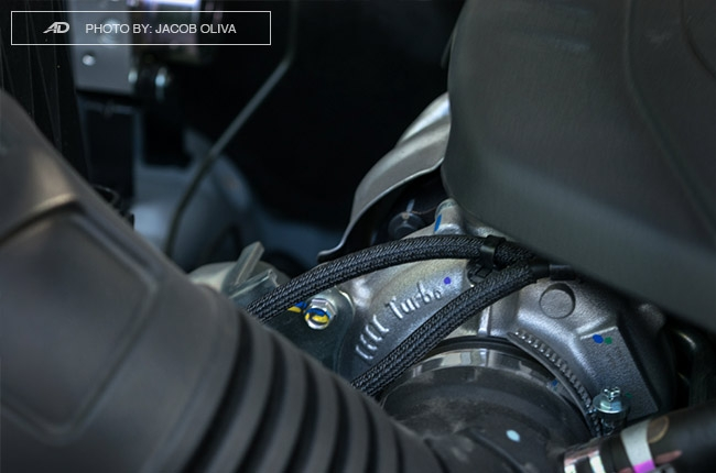 2018 Isuzu mu-x 1.9 RZ4E engine cap