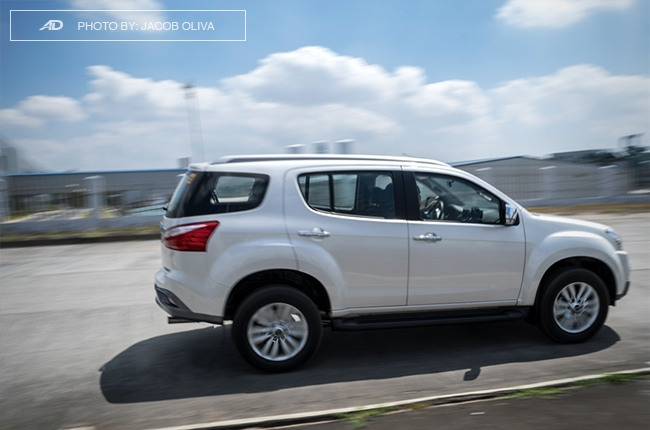 2018 Isuzu mu-X 1.9 RZ4E running side