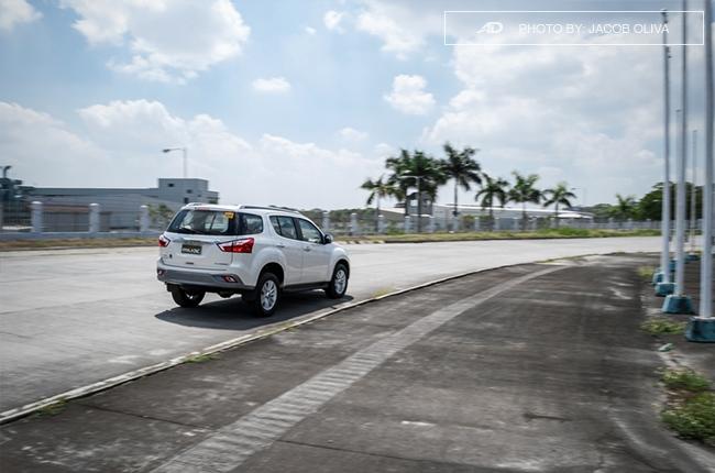 2018 Isuzu mu-X 1.9 RZ4E running rear