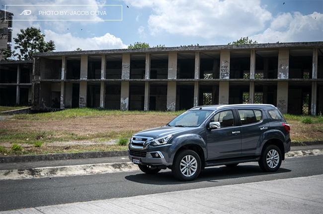 2018 Isuzu mu-X 1.9 RZ4E manual