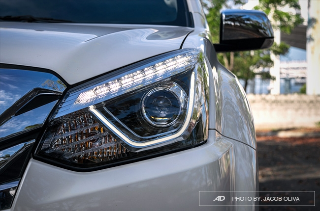 2018 Isuzu mu-X 1.9 RZ4E headlamps