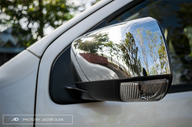 2018 Isuzu mu-X 1.9 RZ4E side mirrors