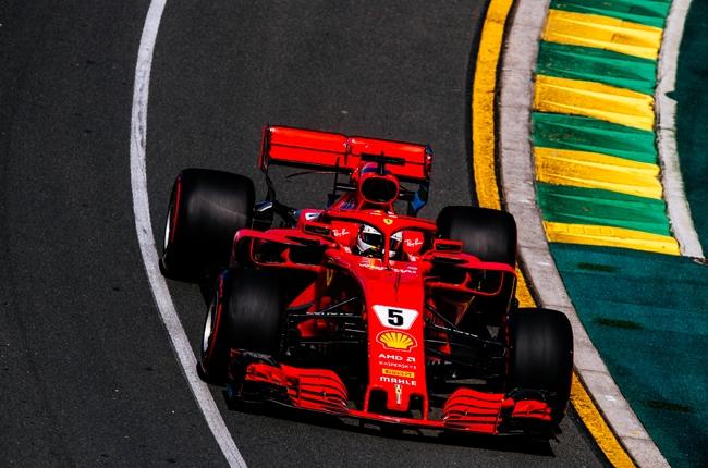 Formula 1 Scuderia Ferrari Sebastian Vettel