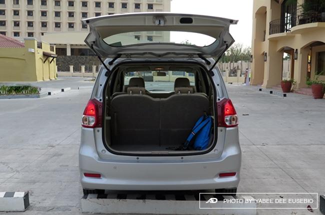 2018 Suzuki Ertiga Luggage Space