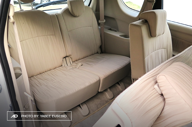 2018 Suzuki Ertiga Third Row Seats