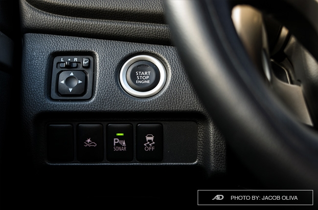 2018 mitsubishi montero sport gt push start button