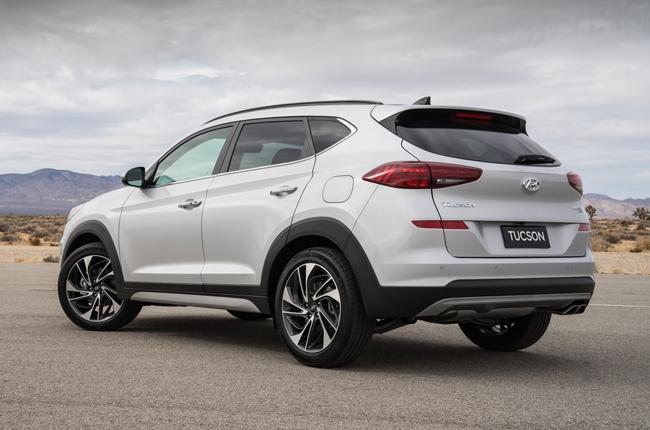 2019 Hyundai Tucson Rear