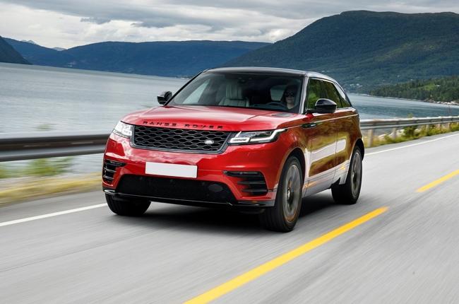 2018 Land Rover Range Rover Velar front