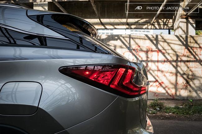 2018 Lexus RX 350 F Sport taillamps