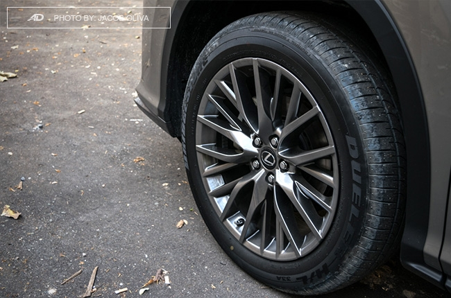 2018 Lexus RX 350 F Sport wheels