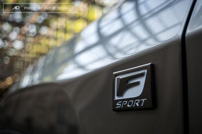 2018 Lexus RX 350 F Sport badge exclusive
