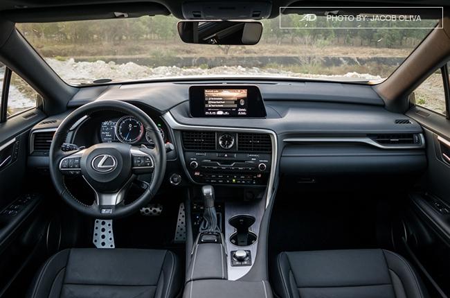 2018 Lexus RX 350 F Sport interior