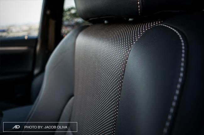 2018 Lexus RX 350 F Sport leather seats