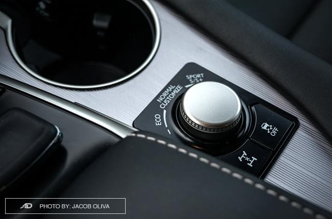 2018 Lexus RX 350 F Sport drive selector