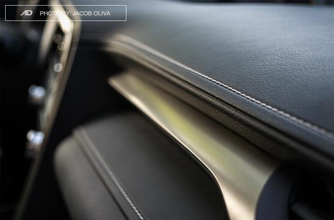 2018 Lexus RX 350 F Sport dashboard