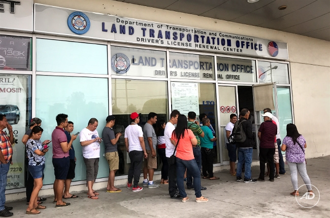 5 years driver's license renewal philippines satellite office