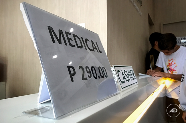 5 years driver's license renewal philippines medical fee