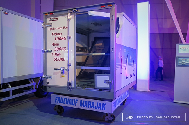 Special Fruehauf Refrigerated cut-away van body