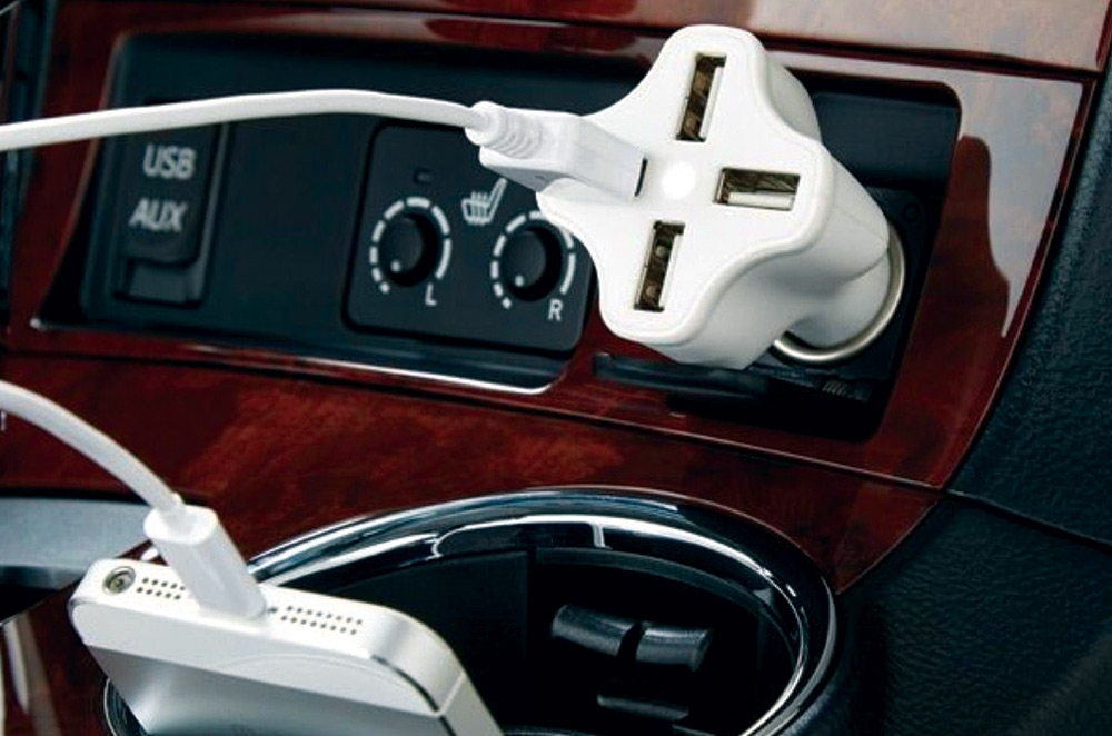 multi-port car charger