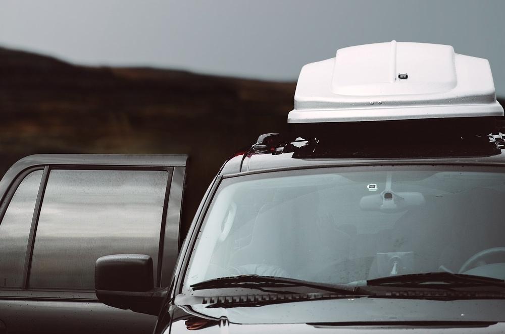 roof mount cargo box