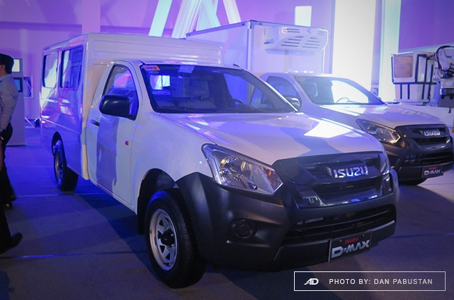 D-MAX Blue Power with FlexiQube body
