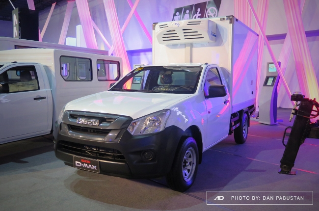 D-MAX Blue Power with Refrigerated Van by CoolAire