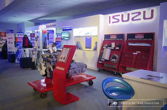 Isuzu Genuine Parts Booth