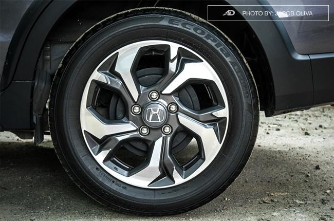 2017 Honda BR-V Modulo wheels